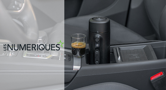 The 12v coffee maker in a famous French consumer website